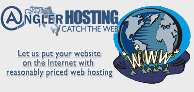 AnglerHosting.com can put your website on the Internet with cheap web hosting