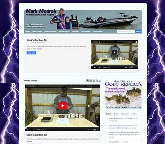 Thumbnail screenshot of MarkModrak.com website